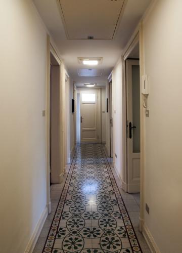 Anticamera Fagiano Milan apartment 02