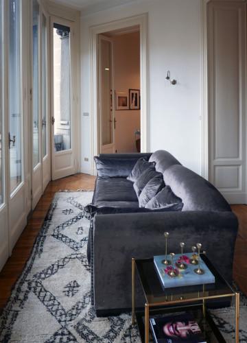 Anticamera Fagiano Milan apartment 03