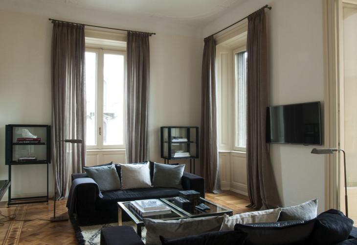 Anticamera Fagiano Milan apartment 05