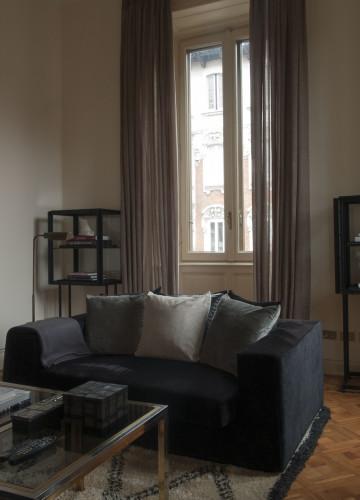 Anticamera Fagiano Milan apartment 07