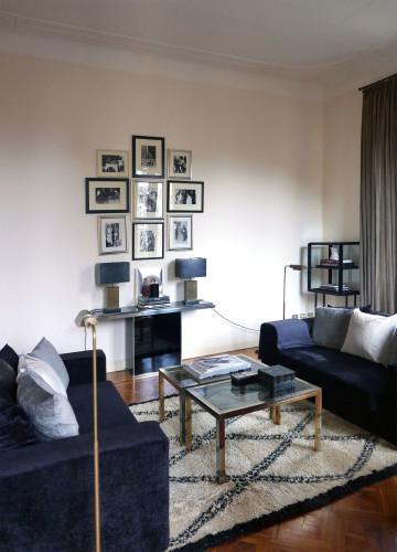 Anticamera Fagiano Milan apartment 08