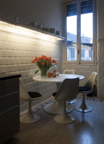 Anticamera Fagiano Milan apartment 12