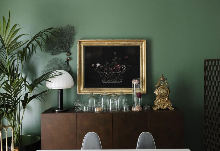 Anticamera Cactus Milan apartment 01