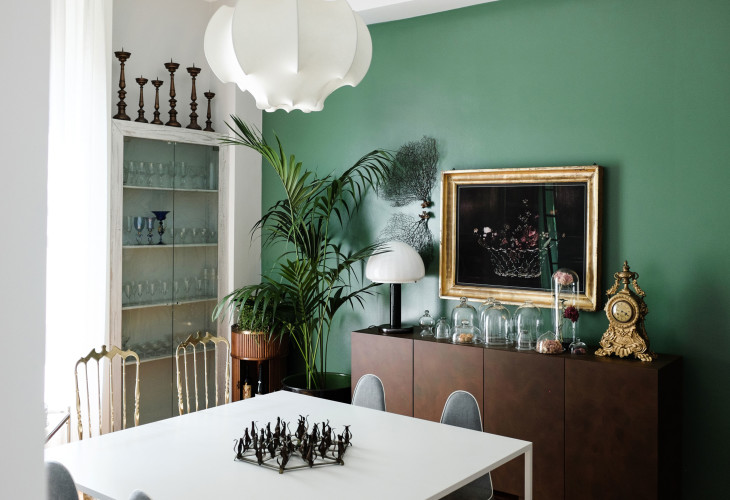 Anticamera Cactus Milan apartment 07