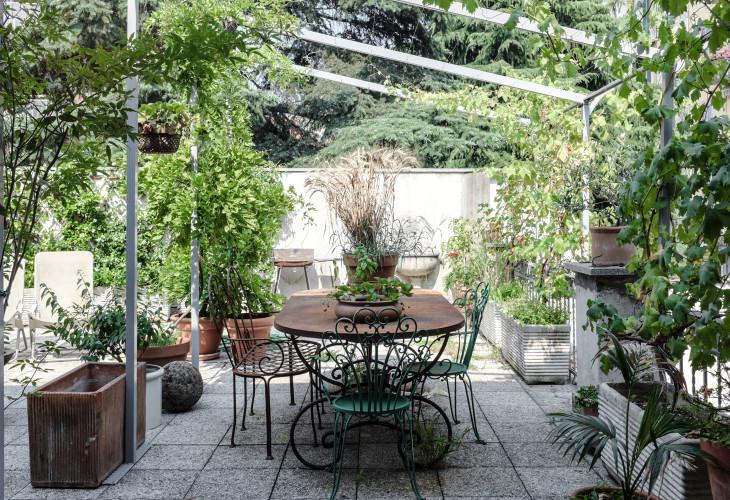 Anticamera Cactus Milan apartment 14
