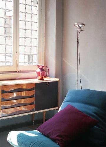 anticamera seppia milano apartment 09