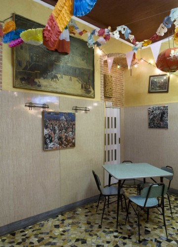 Anticamera Ramarro Milan Restaurant 07